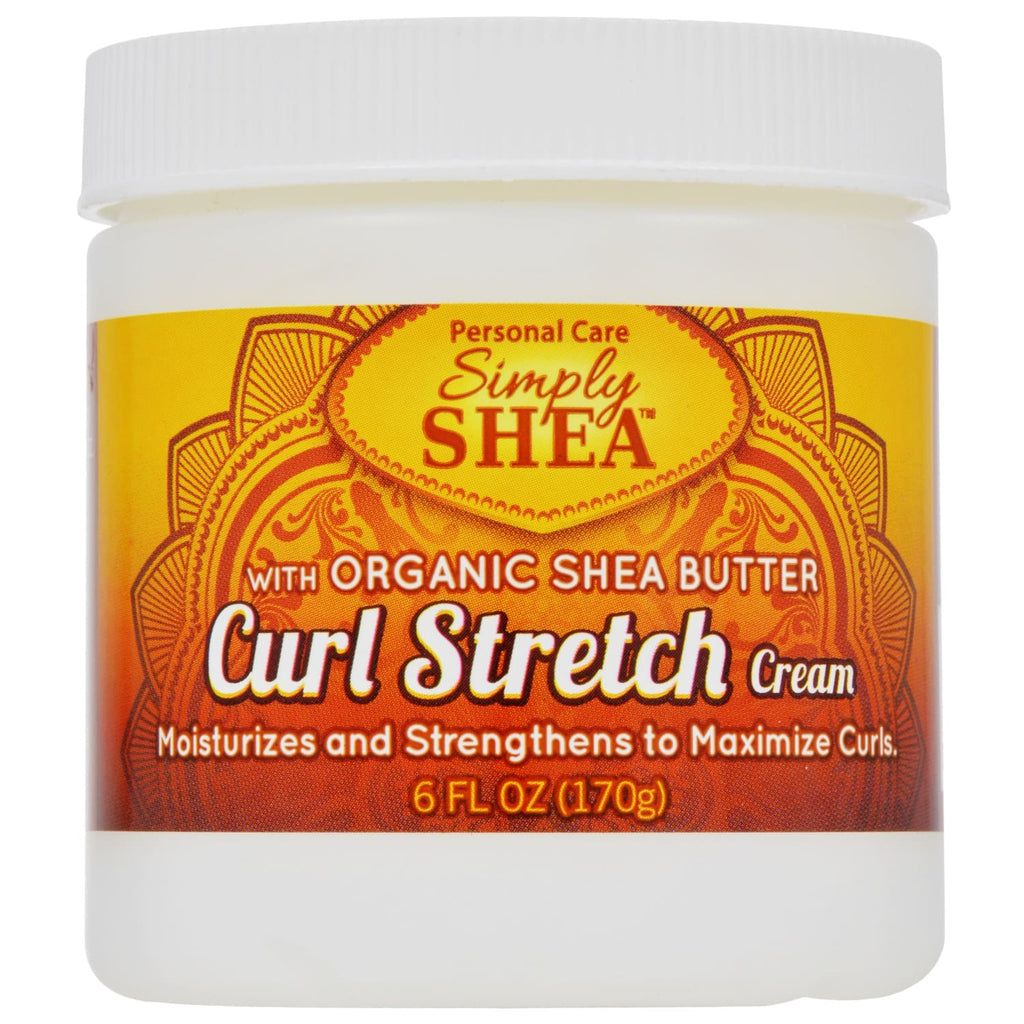 Simply Shea Curl Stretch Cream, 6-oz. Jars (170 g)