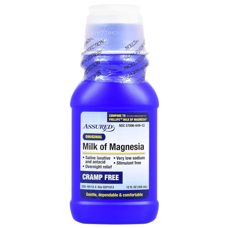 Assured Milk of Magnesia, 12 oz. (355 mL)