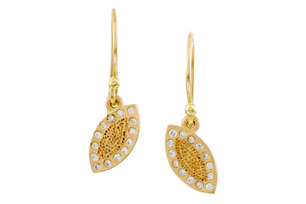 Gold Drops Earrings