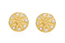 Load image into Gallery viewer, Stud Earrings with  Round Diamonds