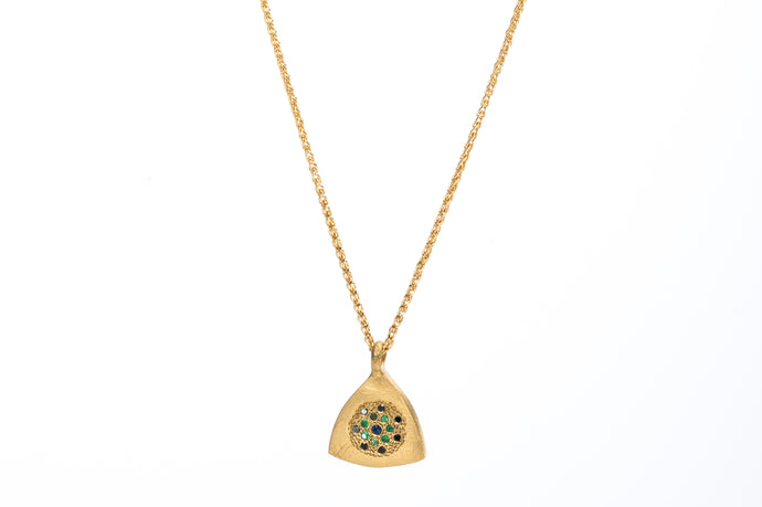 Triangle Stones Necklace