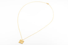 Load image into Gallery viewer, Square Folded Necklace