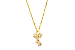Diamonds 18k Gold Necklace
