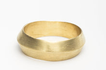 Load image into Gallery viewer, Alternative Wide Wedding Ring in 14k Gold