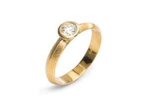 Wedding Stacking Ring Set Gold