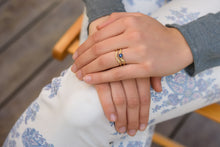 Load image into Gallery viewer, Sapphire Wedding Rings