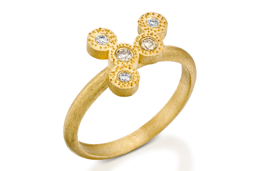 Unique Weding Ring 18K Gold