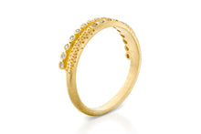 Diamonds Sapphires Wedding Ring Gold