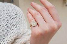 Load image into Gallery viewer, Drop Shape Moissanite engagement Ring