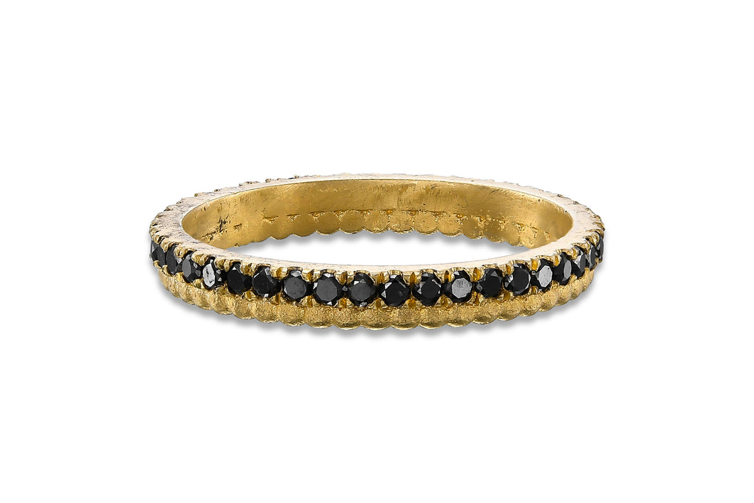 Black Diamond Eternity Ring, Diamond Eternity Band