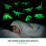 Glowing Dinosaurs - 9 Wall Stickers