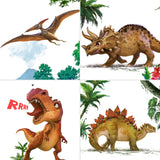Glow In The Dark Dinosaur Wall Posters