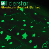 Glow In The Dark Throw Blanket .