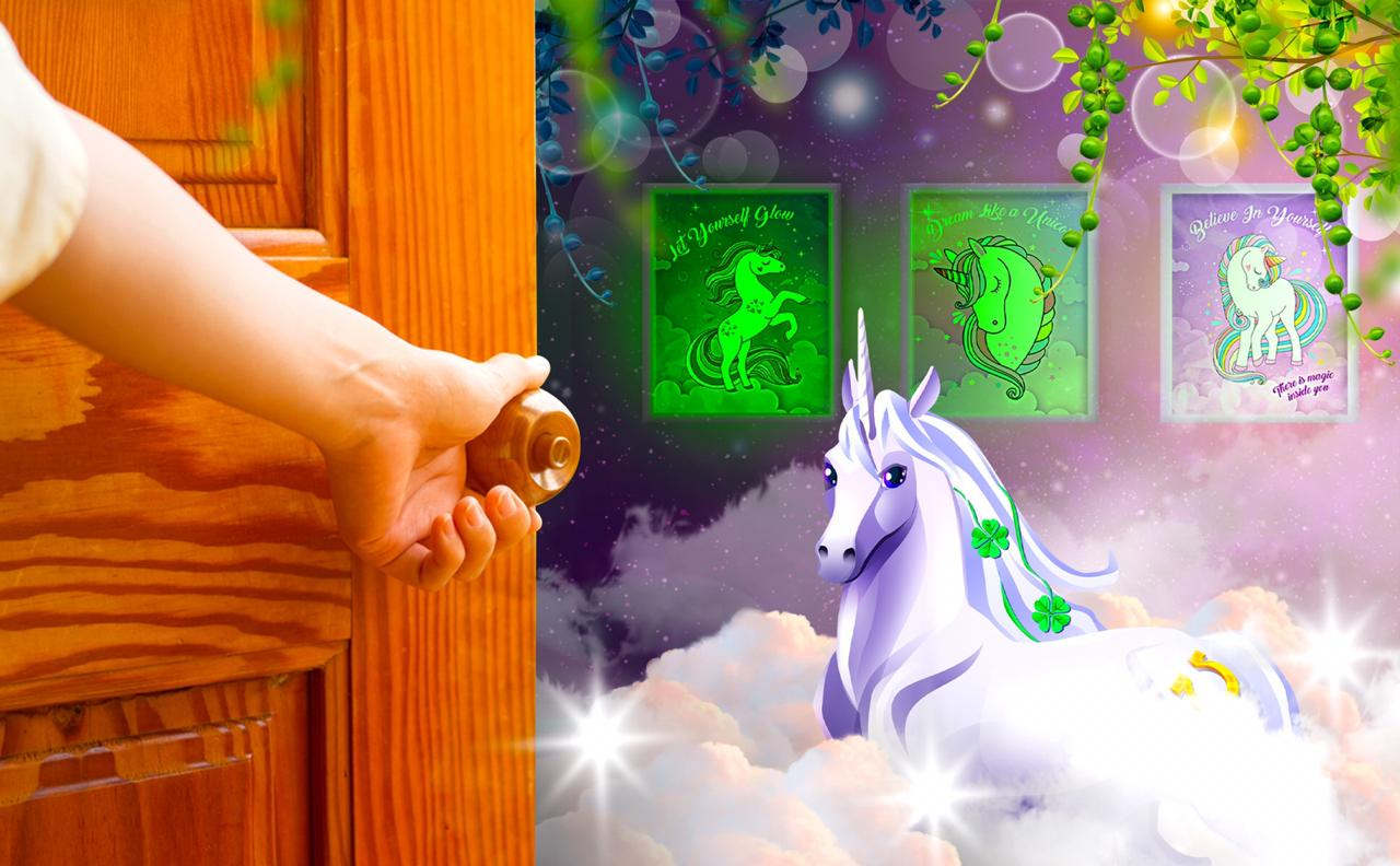 Glow In The Dark Unicorn Posters