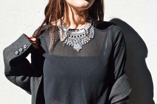 KIARA Statement Necklace - AZARIA