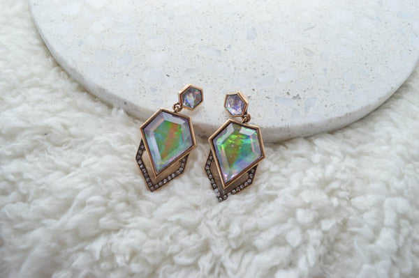 EVA Statement Earrings - AZARIA
