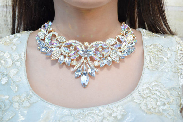 VIENNA Statement Necklace - AZARIA