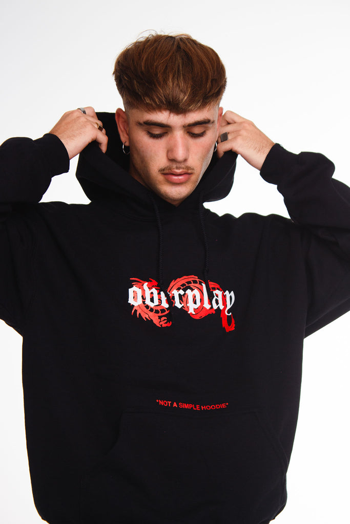"OVERPLAY - Sudadera ""RED DRAG"""