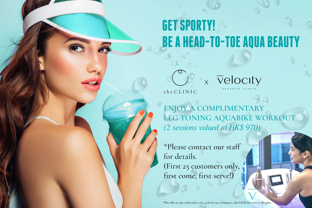 THE CLINIC X VELOCITY AQUA BEAUTY WELLNESS PLAN