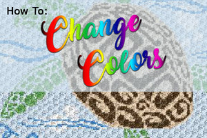 How To Change Colors In C2C Crochet