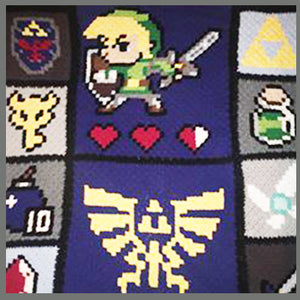 Custom Legend of Zelda Characters Nintendo Video Game C2C Crochet Graphgan