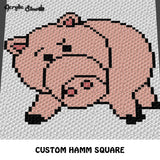 Custom Woody Buzz Hamm Rex Toy Story Disney Pixar Movie Characters crochet graphgan blanket pattern; c2c, cross stitch graph; instant download