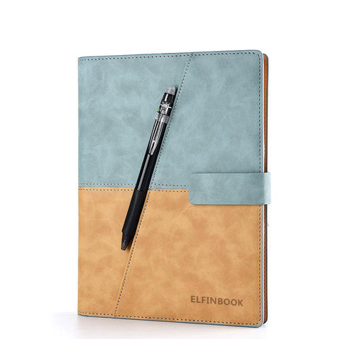 Elfinbook X Erasable Leather Notebook-ArtDixit