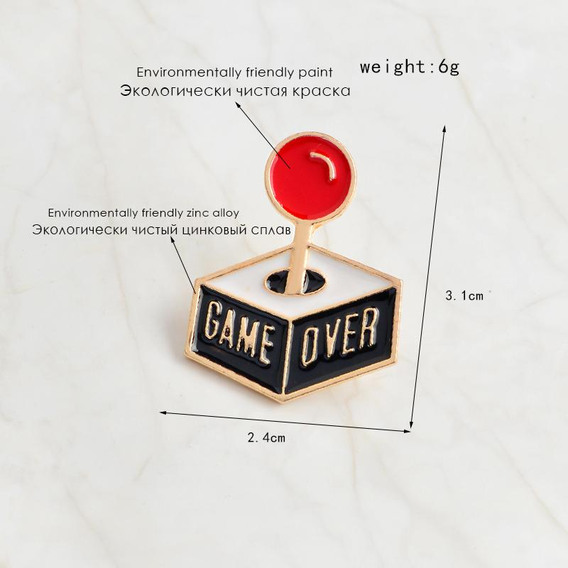 Game Over Pin-ArtDixit