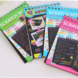 Scratch-Off Magic Rainbow Notebook-ArtDixit