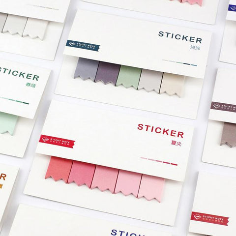 Water Color Sticky Notes-ArtDixit
