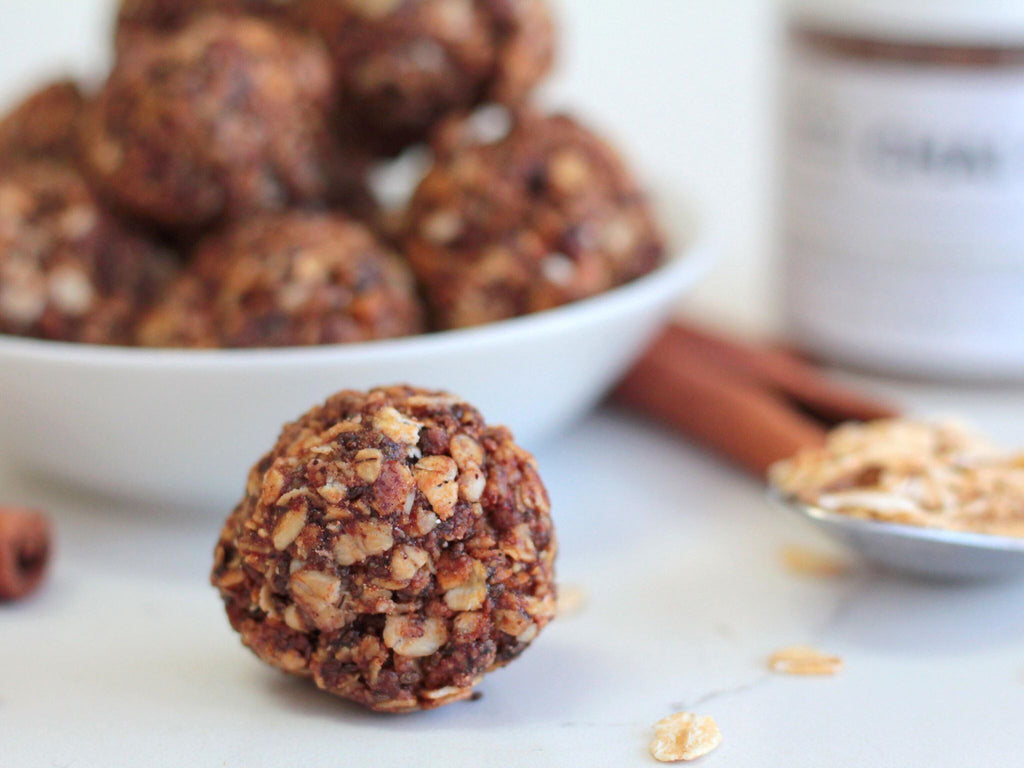 Dirty chai energy balls - The ultimate energizing snack!⚡️