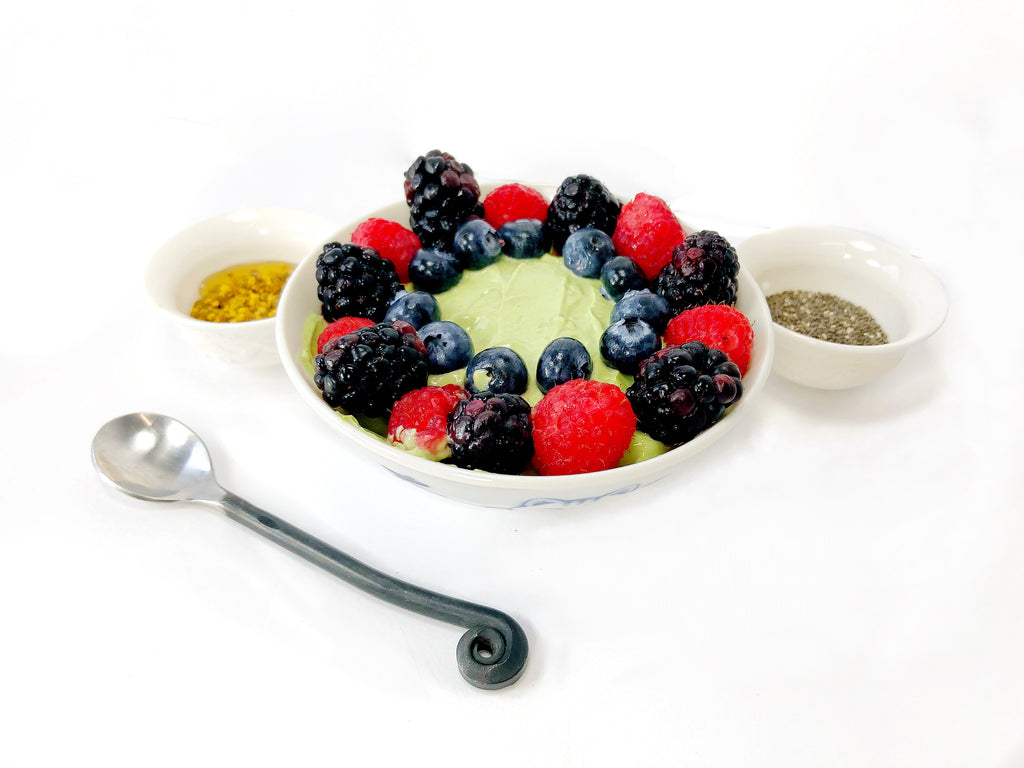 Matcha Yogurt Snack Bowl