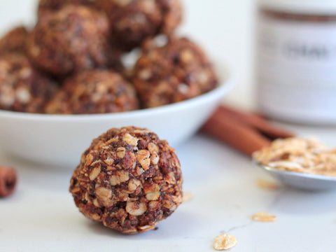 Photo of Matcha Konomi chai spice energy balls