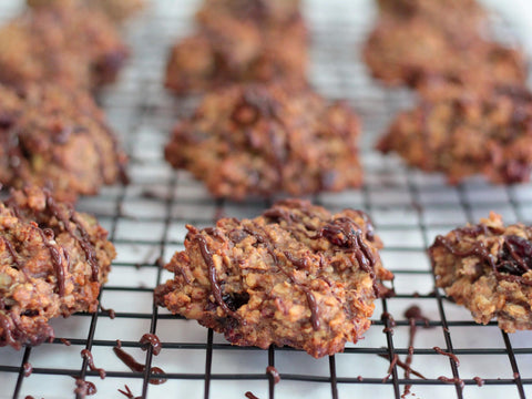 photo of chai cranberry spice snack healthy cookies