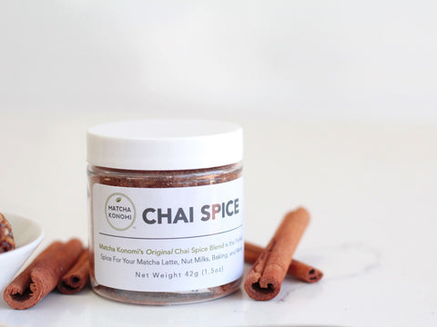 Photo of Matcha Konomi chai spice blend