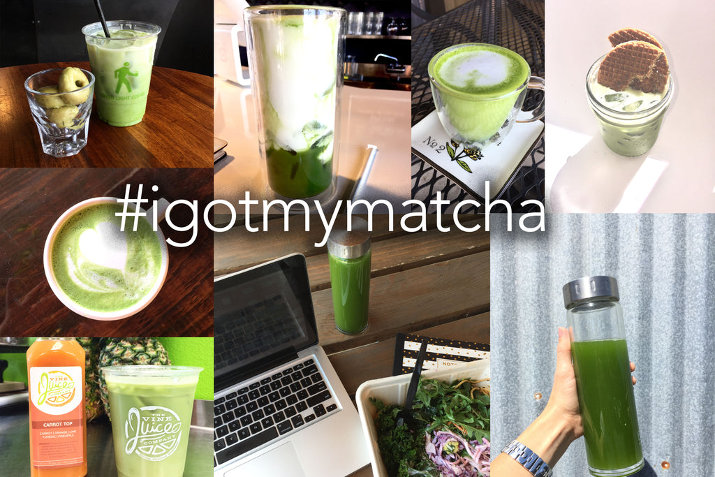 #igotmymatcha hashtags for instagram join the movment and tag your matcha pics