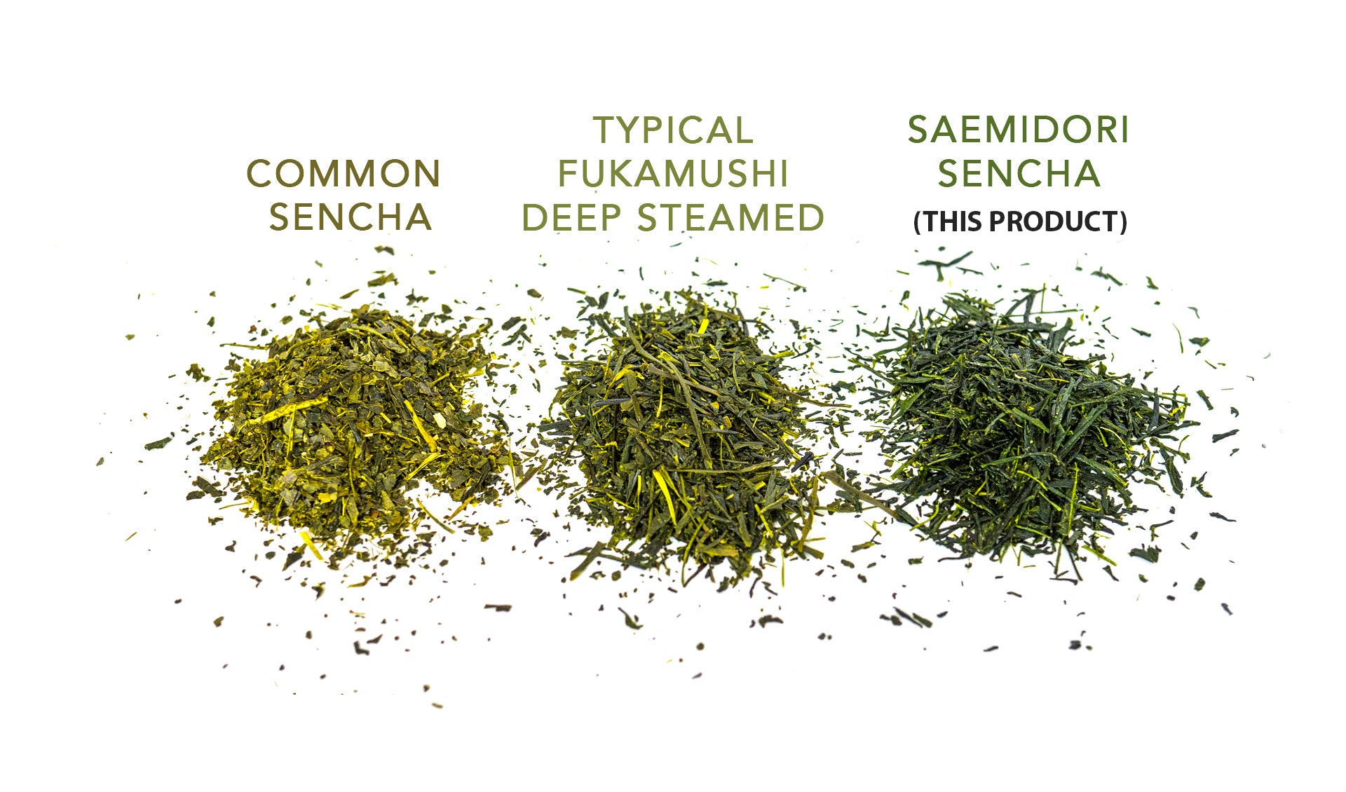 Organic Sencha - First Harvest Saemidori Cultivar 100g (3.5oz) bag - USDA Organic Loose Leaf Tea