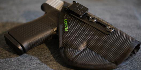 display of the fusion holster
