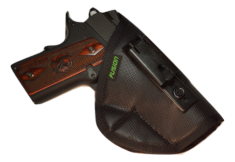 Image of best iwb concealed carry holster for a Kimber 1911