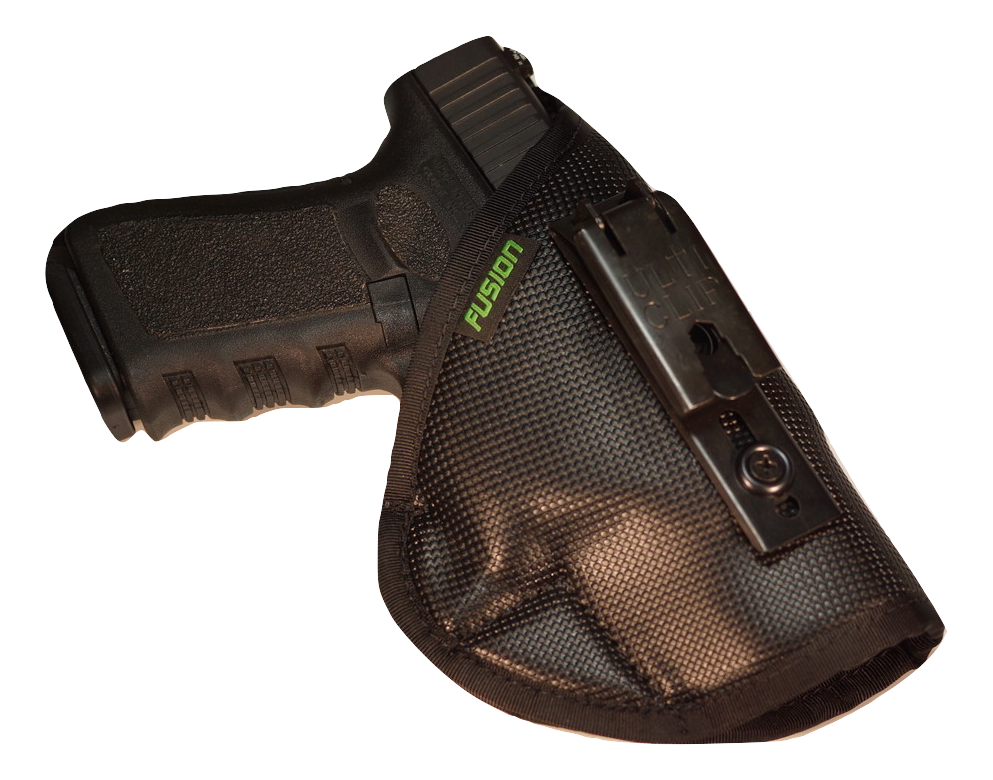 Glock inside the waistband iwb holster with a belt clip
