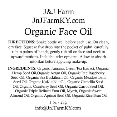 Organic Face Oil - How to use oils in your skin care routine