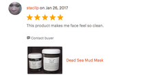 Dead Sea Mud Mask - JnJFarmKY