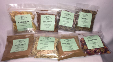 Herbs - Organic, Certified Organic, Wildcrafted