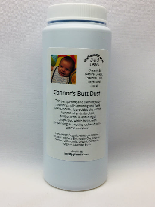 Connor's Butt Dust - Organic Baby Powder