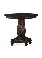 Noveau Foyer Table w/ Carved Top