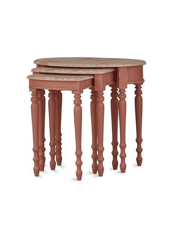 Tucker Oval Nesting Tables