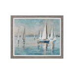 Sailboats at Sunrise, 29x35