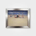 10x12 Framed ''Beach Scene''