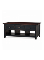 Americana 6 Drawer Coffee Table