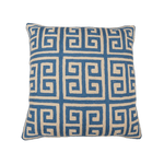 Givenchy Blue Hand Embroidery Pillow, 20x20